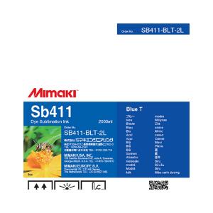 MiMaki Sb411 Ink  2000cc Blue (Transfer)