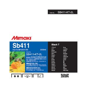 MiMaki Sb411 Ink  2000cc Black (Transfer)
