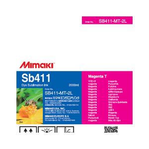 MiMaki Sb411 Ink  2000cc Magenta (Transfer)