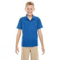 Ash City Extreme Youth Eperformance™ Shield Snag Protection Short Sleeve Polo