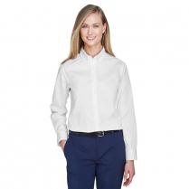 Core 365 Ladies' Operate Long-Sleeve Twill Shirt