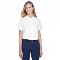 Core 365 Ladies' Optimum Short-Sleeve Twill Shirt