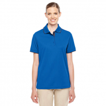 CLEARANCE Core 365 Ladies' Motive Performance Piqué Polo with Tipped Collar