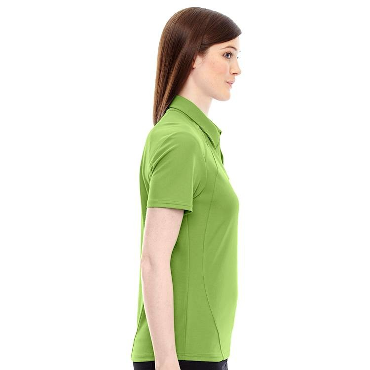 Ash City North End Sport Ladies' Recycled Poly Performance Pique Polo