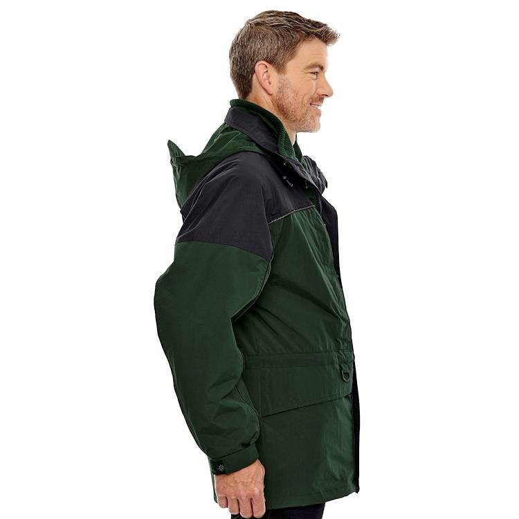 Ash City North End Men's 3 in 1 Two Tone Parka