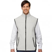 Ash City North End Men's 3-Layer Light Bonded Performance Soft Shell Vest