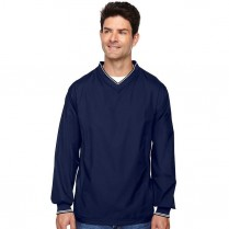 CLEARANCE Ash City North End Men's V-Neck Unlined Windshirt