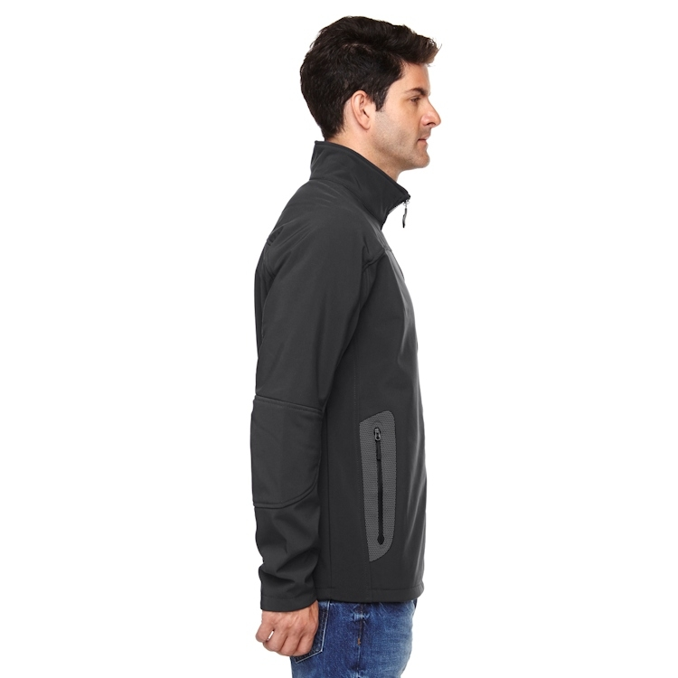 Ash City North End Men's Three-Layer Fleece Bonded Soft Shell Technical Jacket