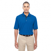 CLEARANCE Core 365 Men's Motive Performance Piqué Polo with Tipped Collar