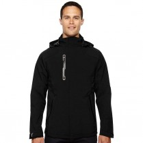 CLEARANCE North End Men's Axis Soft Shell Jacket with Print Graphic Accents