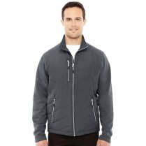 Ash City North End Sport Red Men's Quantum Interactive Hybrid Insulated Jacket