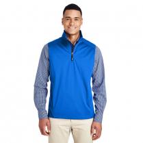 CLEARENCE Core 365 Men's Techno Lite Three-Layer Knit Tech-Shell Quarter-Zip Vest