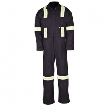 Big Bill 100% Cotton Industrial Work Coverall With Reflective Material