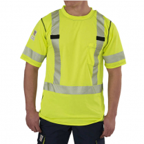 Big Bill High Visibility Short-Sleeve Athletic Performance T-Shirt