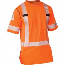 Big Bill High Visibility Short-Sleeve Athletic Performance T-Shirt