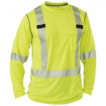 Big Bill High Visibility Long-Sleeve Athletic Performance T-Shirt