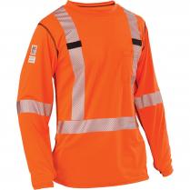 Big Bill High Visibility Long-Sleeve Athletic Performance T-Shirt