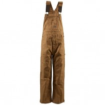 Berne Original Unlined Zip to Knee Duck Bib Overall
