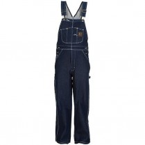 Berne Original Unlined Rigid Denim Bib Overall