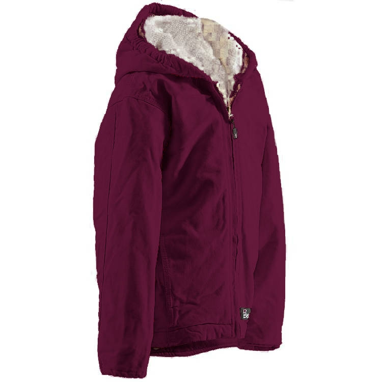 Berne Youth Washed Hooded Jacket