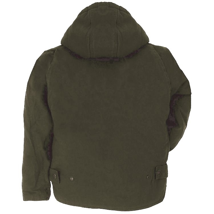 Berne Boys Sanded and Washed Hooded Coat Sherpa Lined