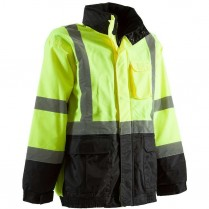 Berne Hi-Visibility Waterproof Jacket