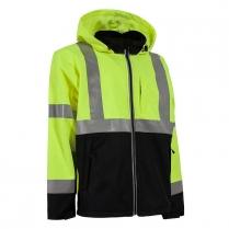 Berne Hi-Vis Type R Class 3 Softshell Jacket