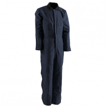 Berne Deluxe Twill Insulated Coverall Quilt Lined Zip to Hip