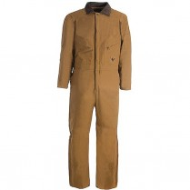 Berne Deluxe Insulated Coverall Quilt Lined Zip to Hip