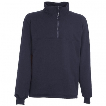 Berne Original Fleece Quarter Zip Thermal Lined Sweatshirt