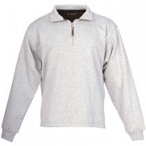 Berne Original Fleece Quarter Zip Thermal Lined Sweatshirt