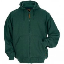Berne Original Hooded Full Zip Sweatshirt-Thermal Lined