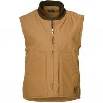 Berne Duck Workman's Vest Quilt Lined