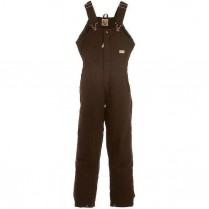 Berne Ladies' Washed Insulated Bib Overall Zip to Waist
