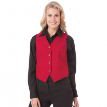 Blue Generation Ladies' Teflon Treated Twilll Bistro Vest