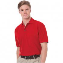 Blue Generation Men's Cotton Pique Short Sleeve Polo