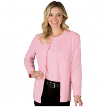 Blue Generation Ladies' Long Sleeve Button Front Cardigan