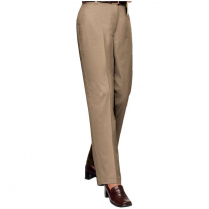 Blue Generation Ladies' Teflon Twill Flat Front Pant