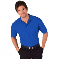 Blue Generation Men's Value Short Sleeve Polo