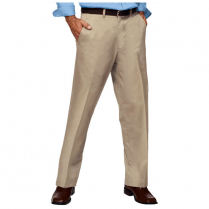 Blue Generation Men's Teflon Twill Flat Front Pant