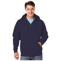 Blue Generation Adult Zip Front Hoodie
