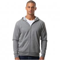 Blue Generation Adult Essential Fleece Zip Front Hoodie