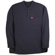 Big Bill  Polartec 8.75 oz. Power Dry Long Sleeve Henley T-Shirt