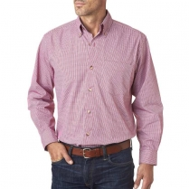 Backpacker Easy-does-it Micro Check Long Sleeve Shirt
