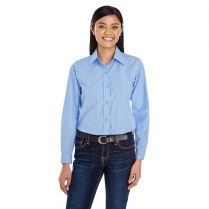 Backpacker Women's Easy-does-it Micro Check Long Sleeve Shirt