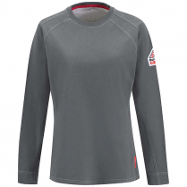 Bulwark IQ Series Comfort Knit Women's Long Sleeve Tee with Insect Shield CAT 2
