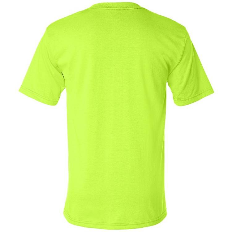 Bayside 50/50 Short Sleeve T-Shirt with Pocket