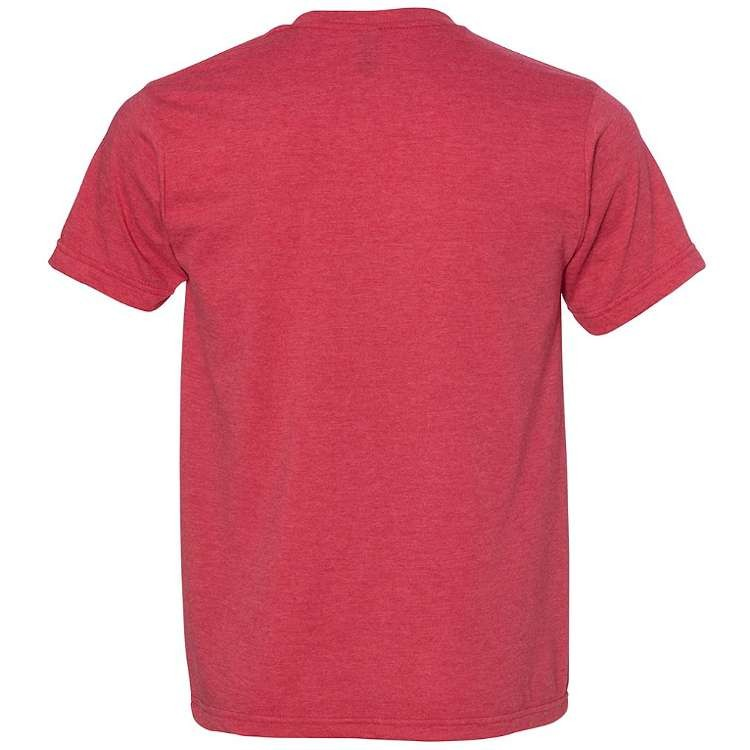 Bayside Ringspun 50/50 Heather Unisex T-Shirt