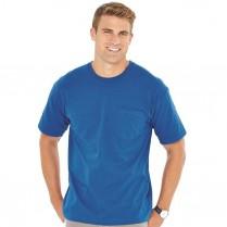 Bayside 5.4 oz. Short Sleeve T-Shirt With a Pocket