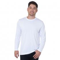Bayside Unisex Long Sleeve Performance Poly Crew T-Shirt